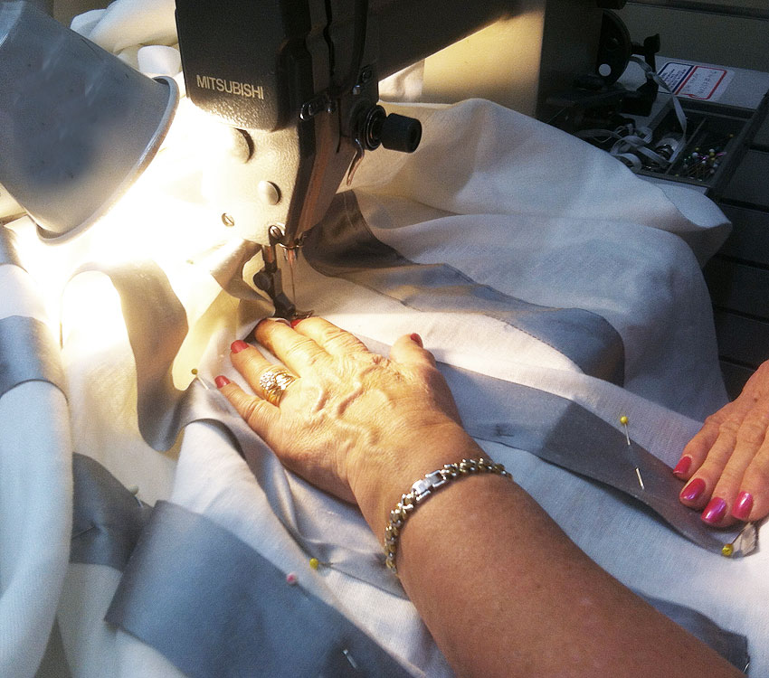 Each of Our Drapery are Handmade to Order in California